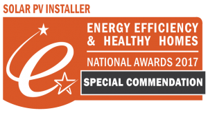 Solar PV Installer of the year - Special Commendation